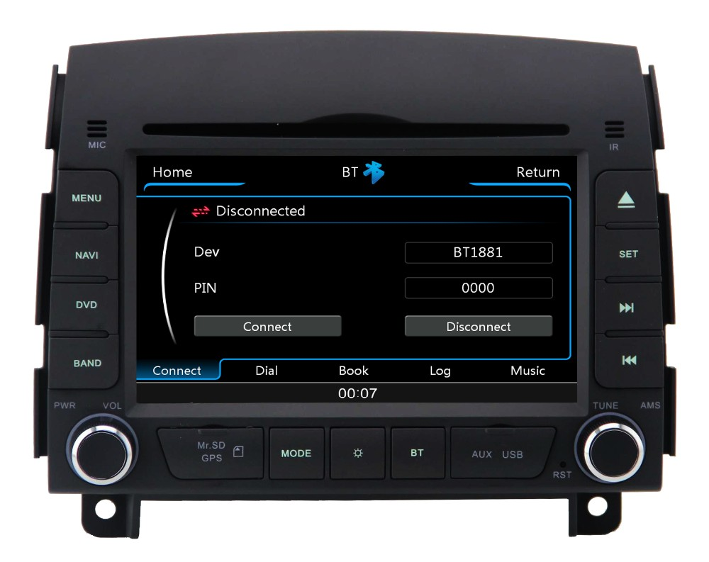 ZESTECH china Car DVD Factory! car navigation system for Hyundai Sonata NF 7 generation 2006 2007 2008 car radio GPS Multimedia(China (Mainland))