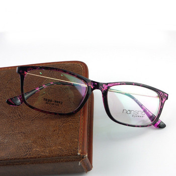 Eyeglasses Frames In Spanish : TR 90 Frame Alloy Temple Eye Glasses Women and Men Optical ...