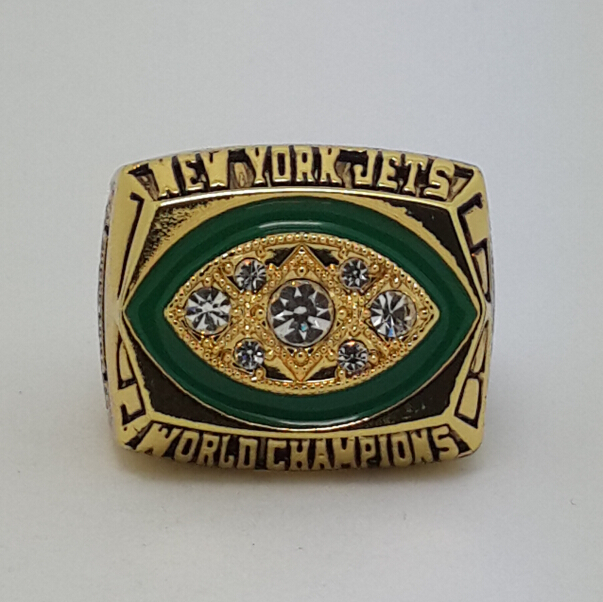 1968 New York Jets III Super bowl ring replica size 11 Player NAMATH Best gift for fans Collection(China (Mainland))