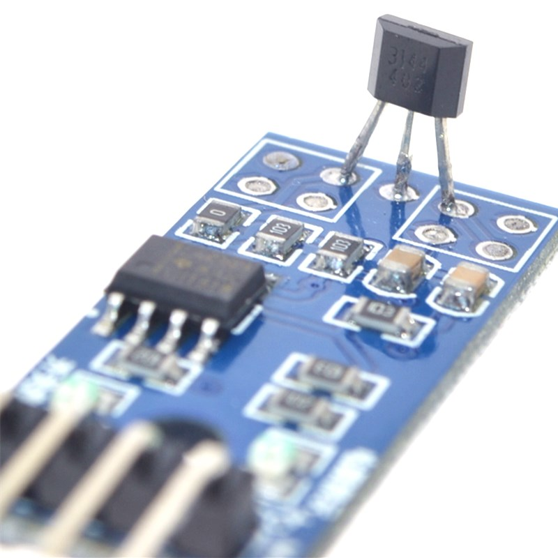 Hall Sensors Module 3144E Hall Switch Speed Magnetic Swiches Speed Counting Sensor Module For Arduino Smart Car
