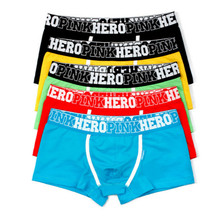 Buy Pink Heroes 5pcs\lot Men Underwear Boxers Cotton Sexy Boxer Mens Underwear Low Price Brand Clothing Men Boxer Pants Shorts for $14.02 in AliExpress store