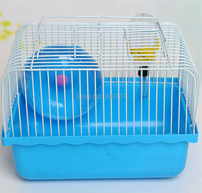 2015 New Free transportation A hamster cage Super Hamster Cages Habitat Cage For Hamster Bohr Hamster The cage #BE-A08(China (Mainland))