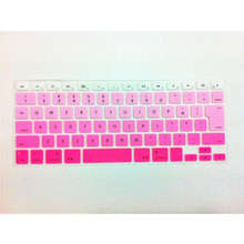 Rainbow Japanese JP keyboard Color English Keyboard Cover Skin Protector For Apple MacBook Air Pro Retina 13 15 17 for Mac Air