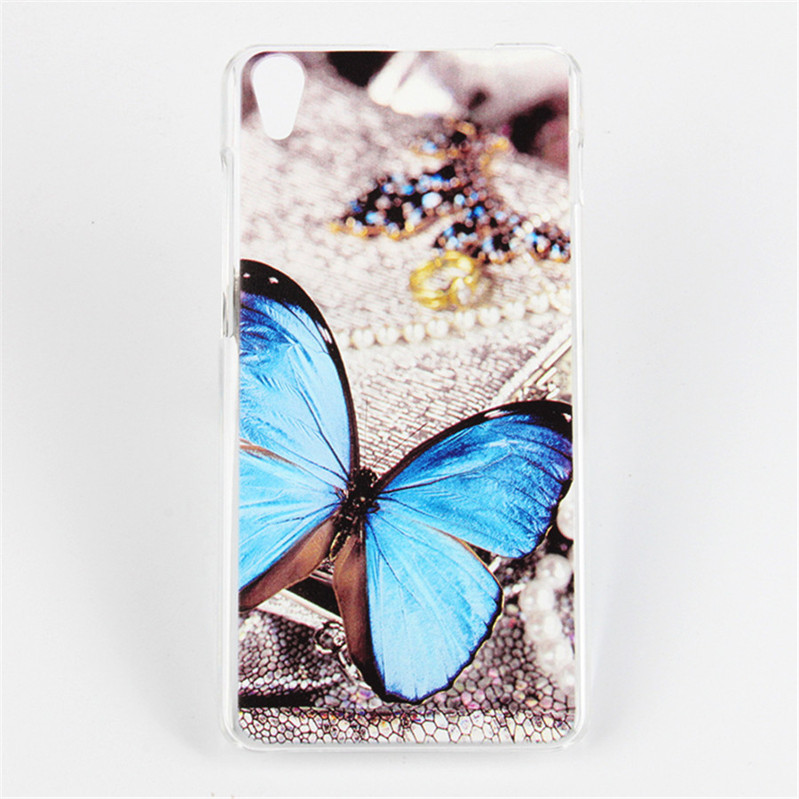 For Lenovo S850 Case Eiffel Tower Butterfly Design Soft Silicone Gel Case Cover For Lenovo S850 TPU Rubber Back cover Free Ship(China (Mainland))