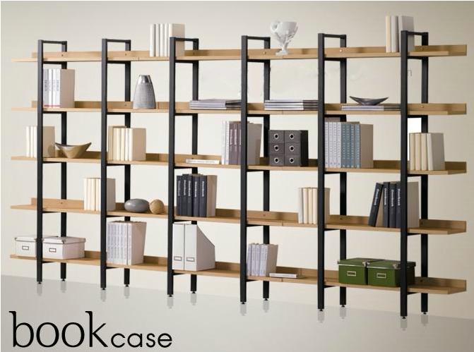 pas cher fer tag re en bois biblioth que tag res d 39 affichage une combinaison de clins tag re. Black Bedroom Furniture Sets. Home Design Ideas