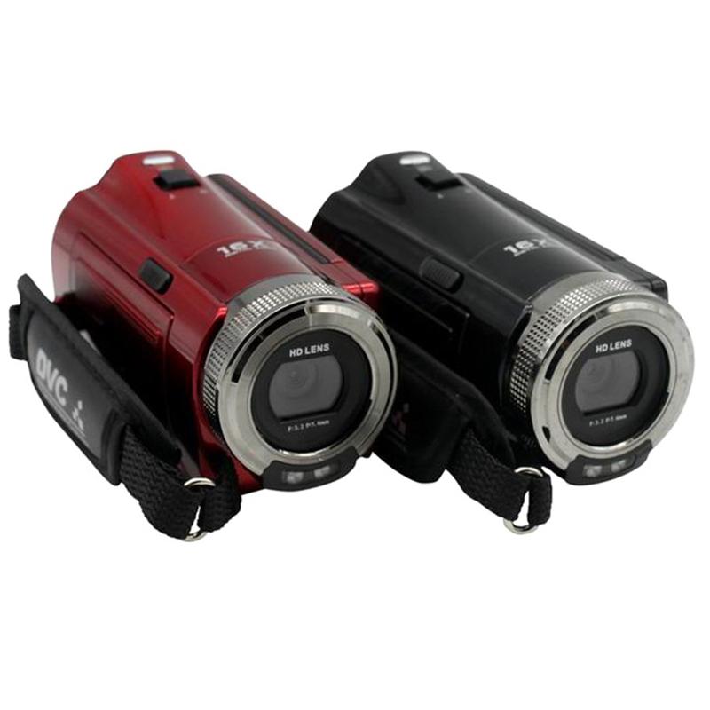 2.7' Inch LCD Screen Digital Camera 720P HD 16MP Video Camcorder 16x Digital Zoom DV Camera Film Camera DVR(China (Mainland))