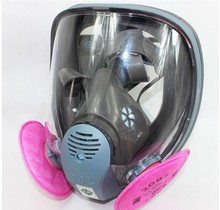 2016 SJL 6800 Gas Mask Full Face Facepiece Respirator  Suit Painting Spraying(China (Mainland))