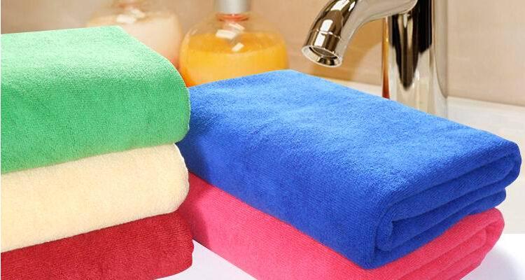 140*70cm Functional Soft Absorbent Microfiber Bath Towel set Travel Gem Quick Dry Towels New 2pcs/lot(China (Mainland))
