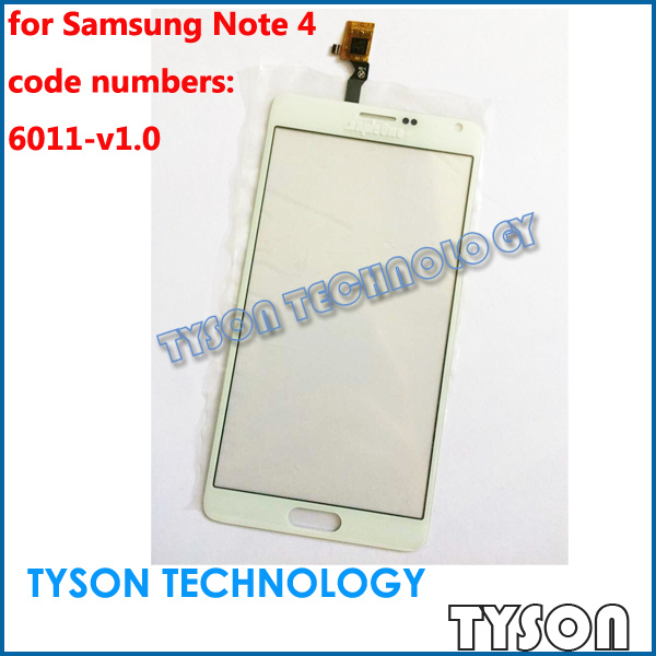 6011-v1.0 Touchscreen for Samsung Galaxy Note 4 Touch Screen Copy Fake Clone Glass Panel Free Shipping(China (Mainland))