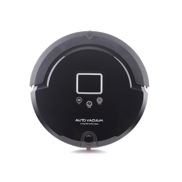 (Free to Russia) Black Advanced Robot Vacuum Cleaner (Sweep, Vacuum, Mop,Sterilize)Use For Room Floor Auto Cleaning,Aspirador(China (Mainland))