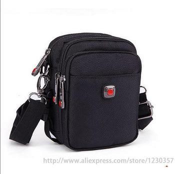 men messenger bags black oxford material high quality ( Size mini small medium big large ) a0100