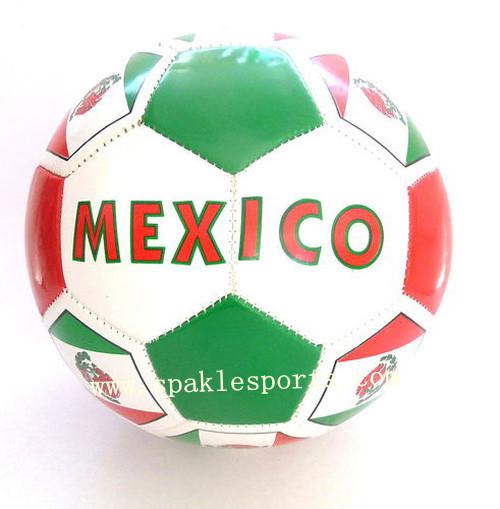 Official hand sewn football & soccer ball, 2013 football 500pcs/lot, free logo printing(China (Mainland))
