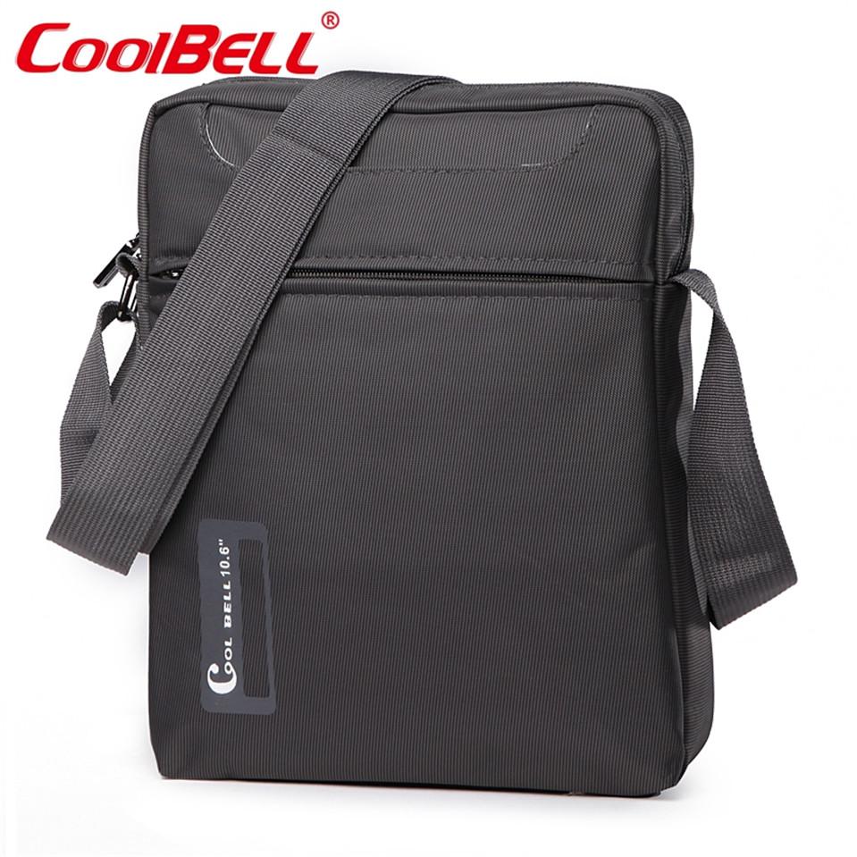 CoolBell 10 10.6 inch Tablet Laptop Bag for iPad 2/3 /4 iPad Air 2/3 Men Women Shoulder Messenger Bag Small Sport Crossbody Bag(China (Mainland))
