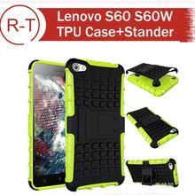For Lenovo S60 Case Hybrid TPU+PC Protective Case Anti-knock Back Cover For Lenovo S60 S60W Cellphone Free Shipping + in Stock