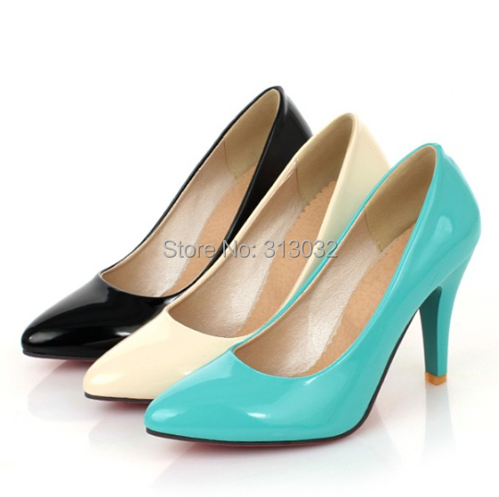 Free shipping Women Shoes Pointy New sexy slim high heel evening shoes Sandals Black Beige Blue sexy party ladies shoes S399(China (Mainland))