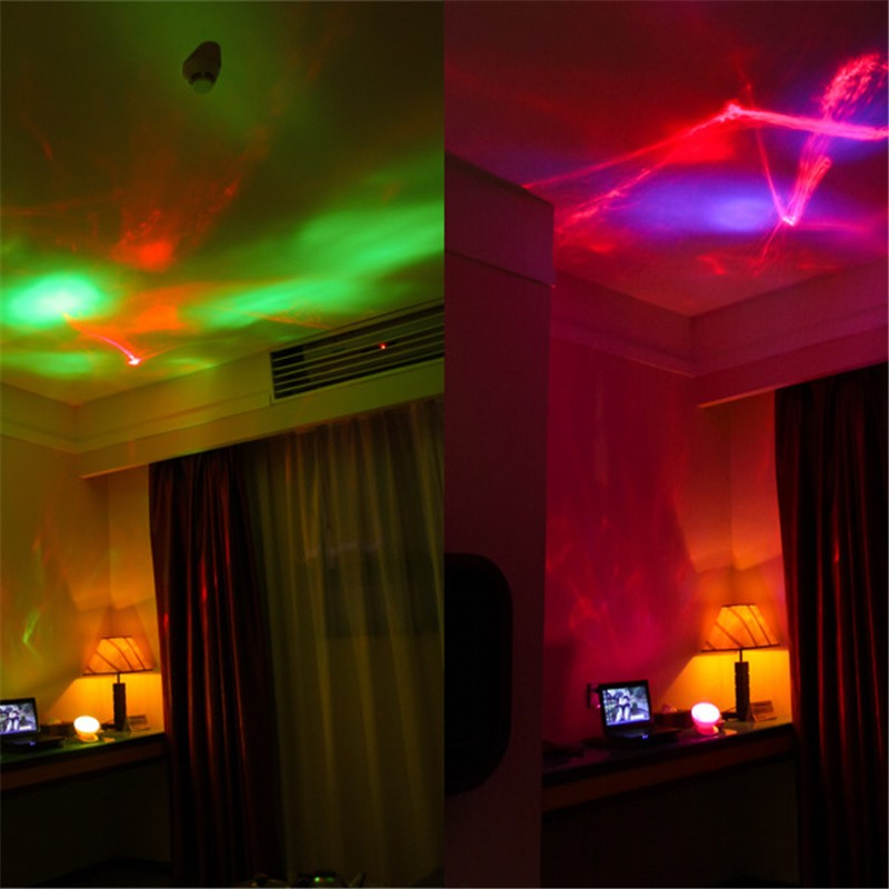 1XCreative Ocean Starry Sky Northern Lights Diamond Projection LED Night Light Romantic Festival Birthday Gifts Bedroom Lamps