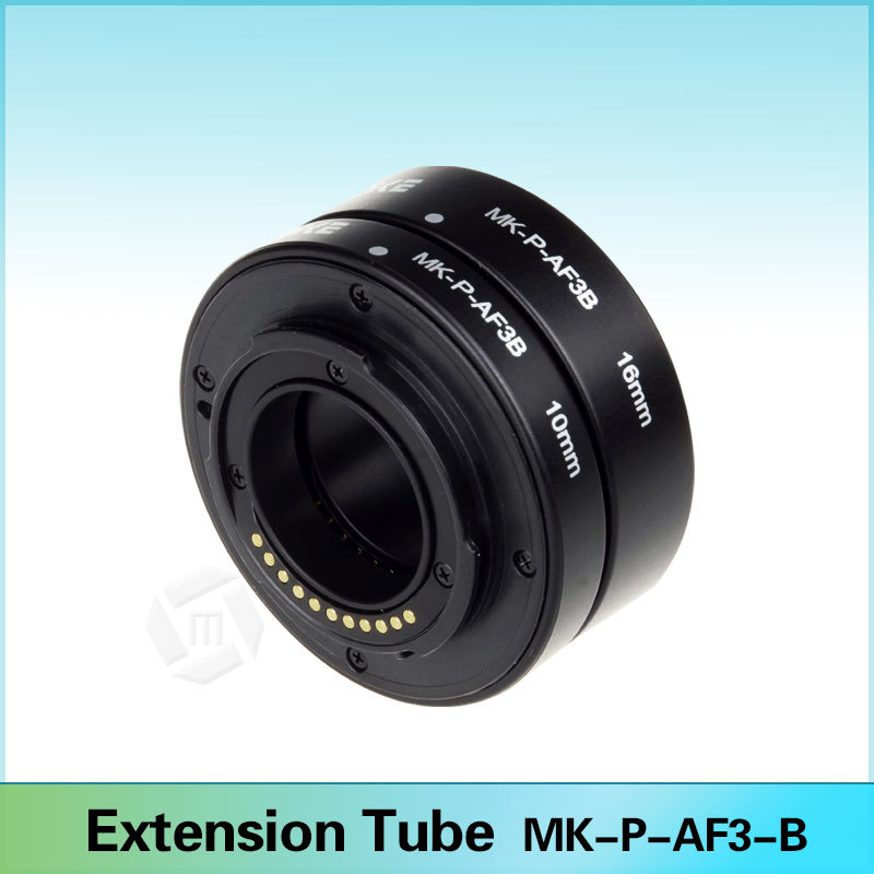 Meike P-AF3-B Auto Focus Automatic Macro Extension Tube DSLR (10mm, 16mm) for Panasonic &amp; Olympus Micro 4/3 System Camera<br><br>Aliexpress