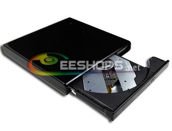 External USB Super Multi Dual Layer 8X DL DVD RW Burner CD Writer Slim Portable Optical Drive for Asus Samsung Acer Netbook New(Hong Kong)