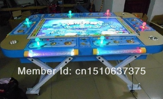Catch fish video game machine fishing games arcade for Arcade fishing games