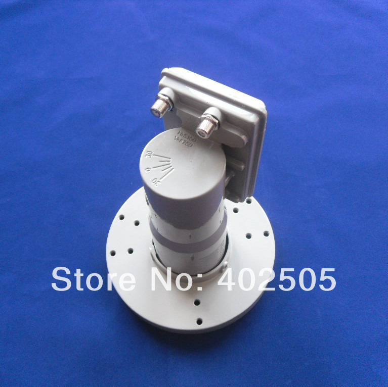 c band twin lnb with L.O.frequency 5150/5750mhz from professional manufacturer(China (Mainland))