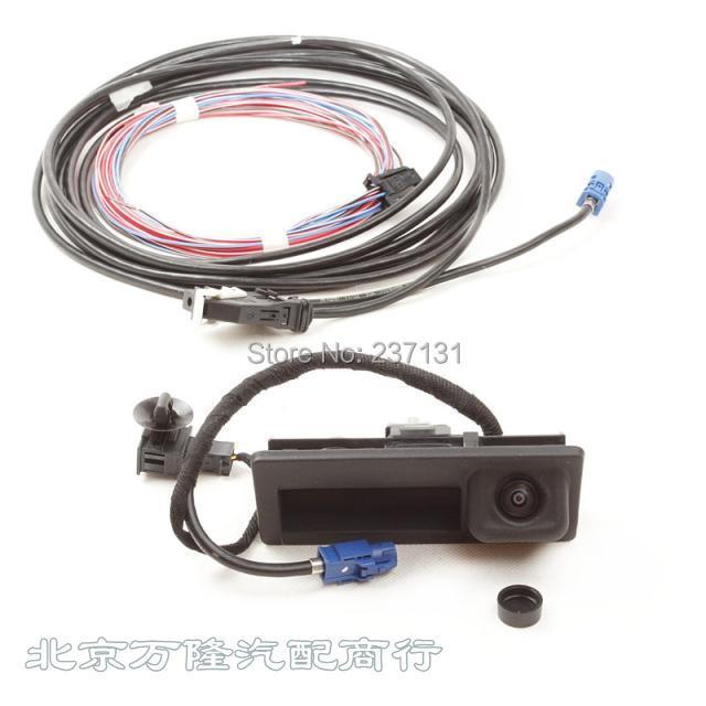 OEM VW RGB rear view reversing camera set for VW Passat CC B7 Tiguan Jetta Sharan Golf mk6 Octavia RNS510 RCD510 56D 827 566A(China (Mainland))