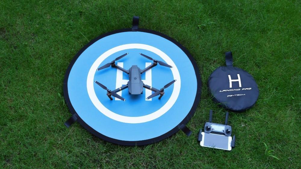 PGY 75cm mini Fast-fold landing pad DJI Mavic phantom 2 3 4 inspire 1 helipad RC Drone gimbal Quadcopter Helicopter Accessories