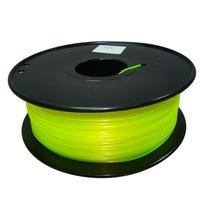 yellow color 3d printer filament PLA/ABS 1.75mm/3mm 1kg/2.2lb Plastics Consumables Suitable for MakerBot/RepRap/Cubify/UP