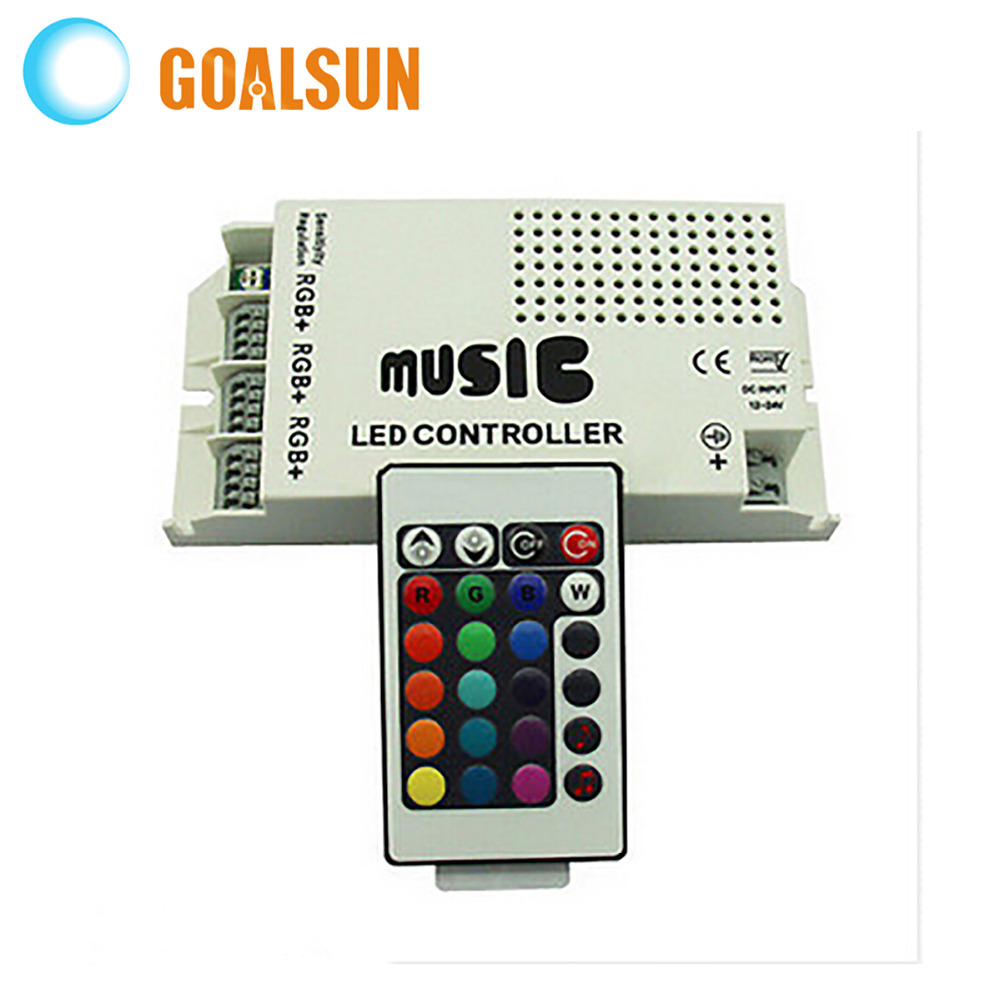 Music 24 Key IR Controller LED Infrared RGB Color wireless remote control(China (Mainland))