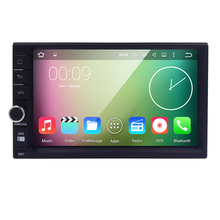Quad Core Pure Android 5.1 Car Multimedia Player Car PC Tablet Double 2din 7'' GPS Navigation Car Stereo Radio Bluetooth NO DVD(China (Mainland))