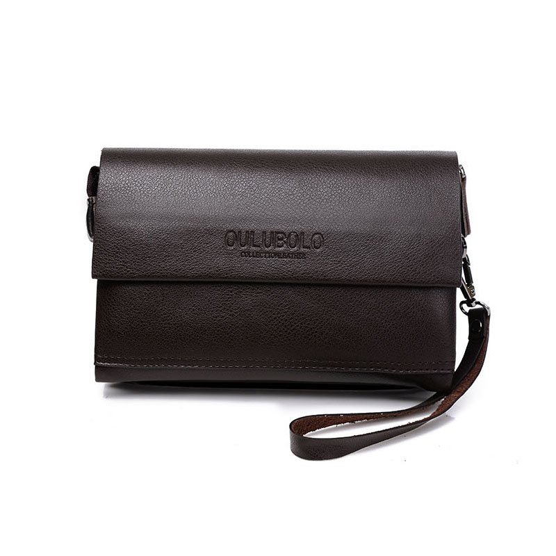 Famous Brand Men Top Genuine Leather Large Multifunction Business Soft Clutch Wallets, Males Car Coin Phone Purse Handbag<br><br>Aliexpress