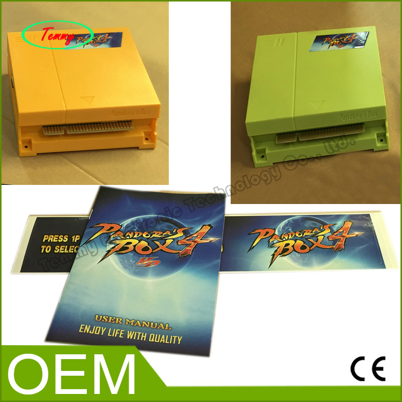Фотография The new upgraded pandora box 4 Newest Slot Jamma game PCB Jamma game Board Multi Arcade Games 645 in 1