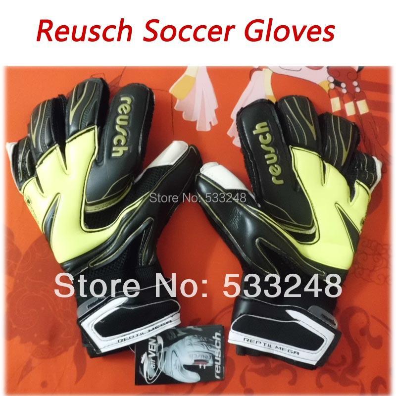 Hot sell Thickened Reusch 's top goalkeeper gloves football lungmoon goalkeeper gloves 8 9 10 soccer gloves guantes de futbol(China (Mainland))