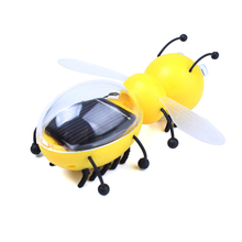 Interesting Solar Powered Mini Bee Educational Toy Solar Toys For Kids #72680 (China (Mainland))