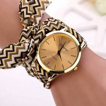 5 colors New design Girls Ladies Casual watches Bracelet  Fabric Wristwatch for Women dress Watch