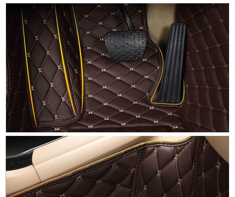 Купить Обычай автомобиль коврики для Toyota Land Cruiser 200 горец Camry Prado RAV4 ног чехол стайлинга автомобилей ковер вкладыши ( 2007 - )