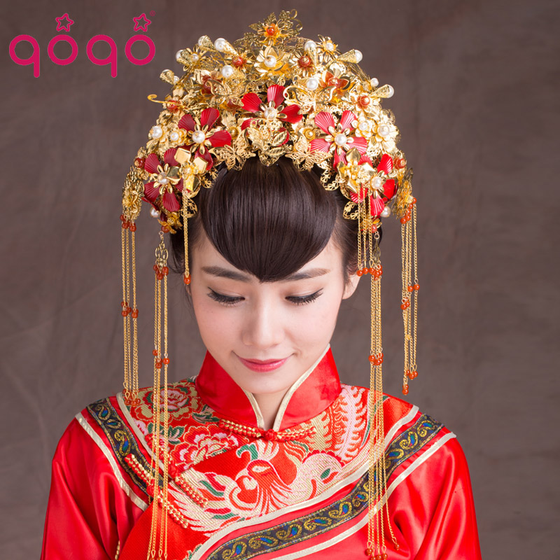Vintage Chinese Style Classical Jewelry Traditional Bridal