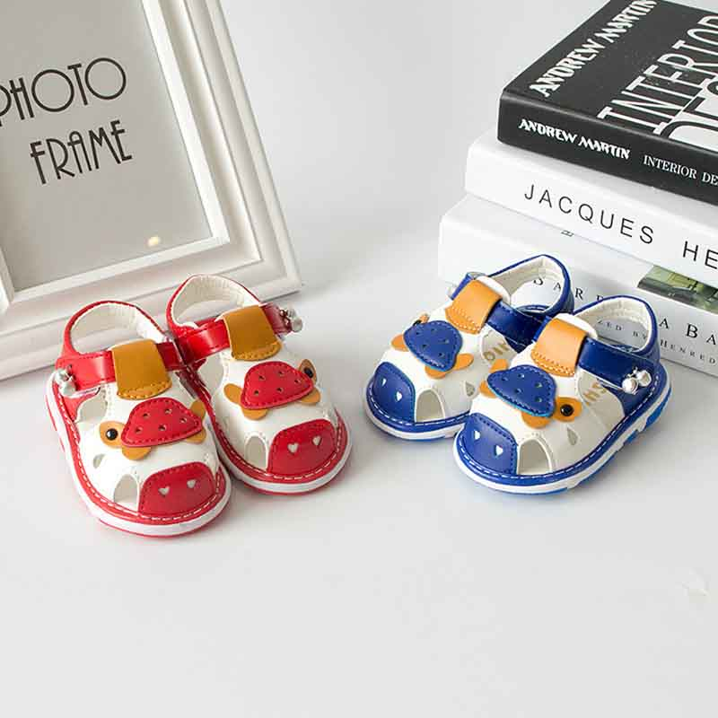 2017 new summer children sandals baby shoes called shoes boys and girls breathable hollow shoes children (1,2,3 years old)(China (Mainland))