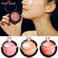 New Arrival Soft Pressed Natural Face Blush Blusher Powder Palette Nude Makeup Blush Make Up Tool