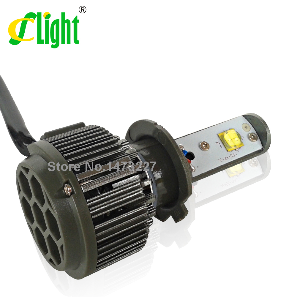 Strong Vision H7 LED Motorcycle Headlight 30W 3600 Lumen for Harleys BMWs KTMs SUZUKIs Peugeots Hondas Motor Bike Headlight(China (Mainland))