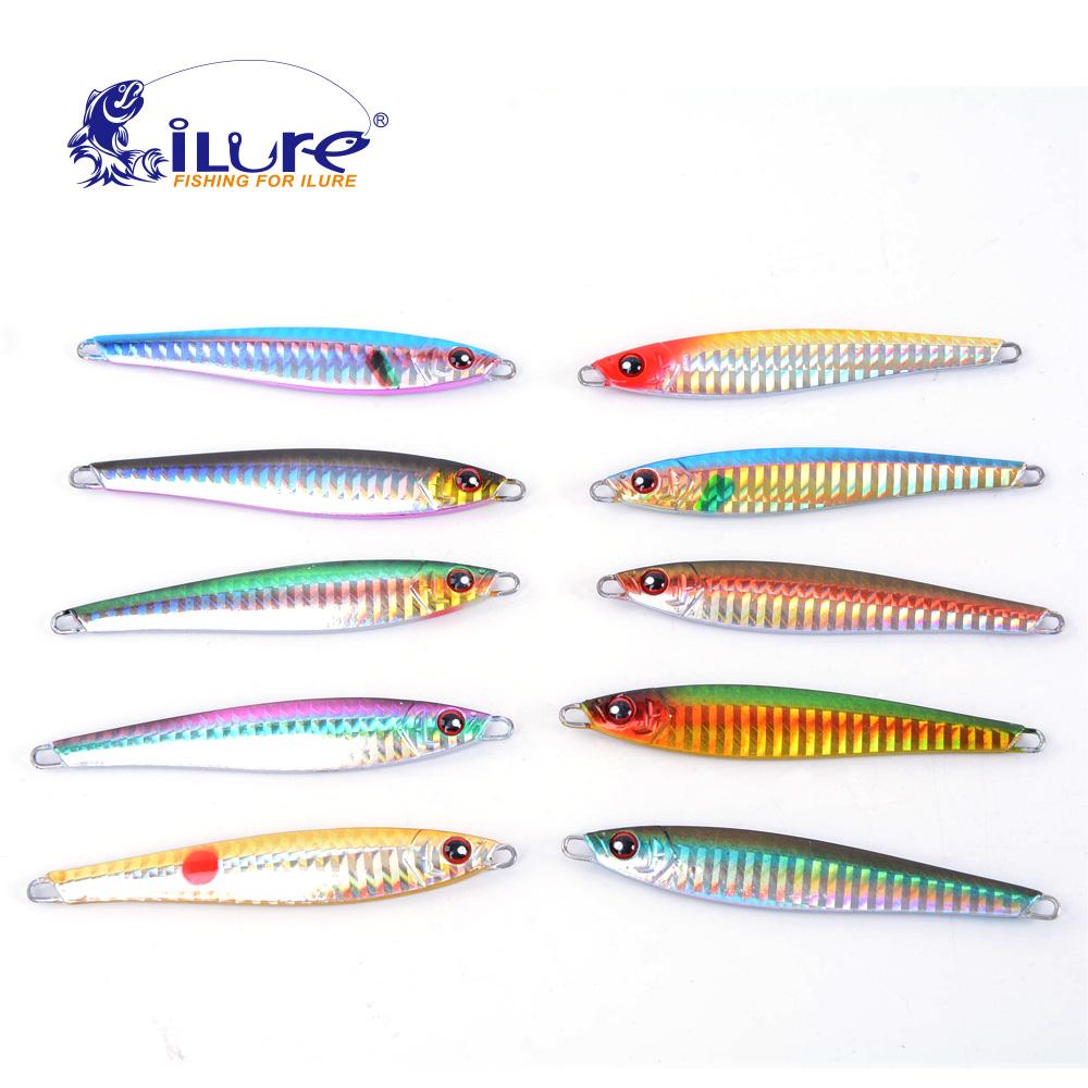 Buy metal lure fishing bait 36g lead fish for Fishing lure companies