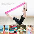 Free Shipping hot 1 2m Elastic Yoga Pilates Rubber Stretch Exercise Band Arm Back Leg Fitness