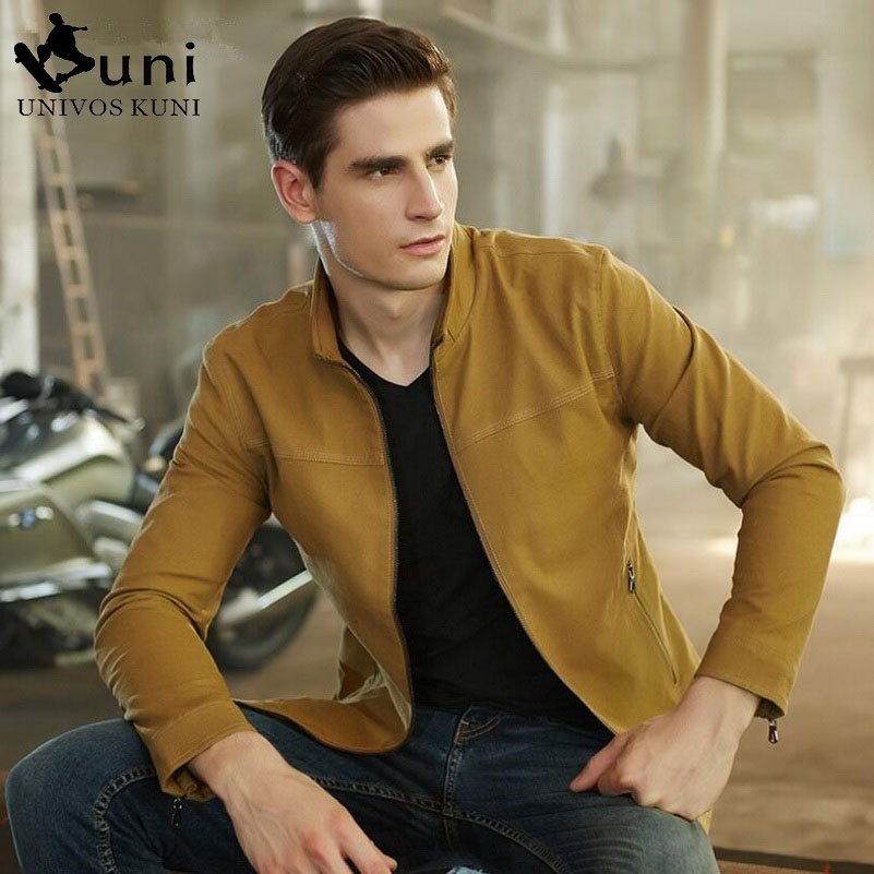 Mens Jacket 2016 New Brand Autumn Coats Fashion Slim Fit Casual Outwear Sport Casual men's Coat dress Plus size M-XXL D4127