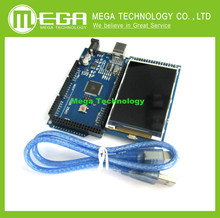 3.2 inch TFT LCD screen module Ultra HD 320X480 for Arduino + MEGA 2560 R3 Board with usb cable