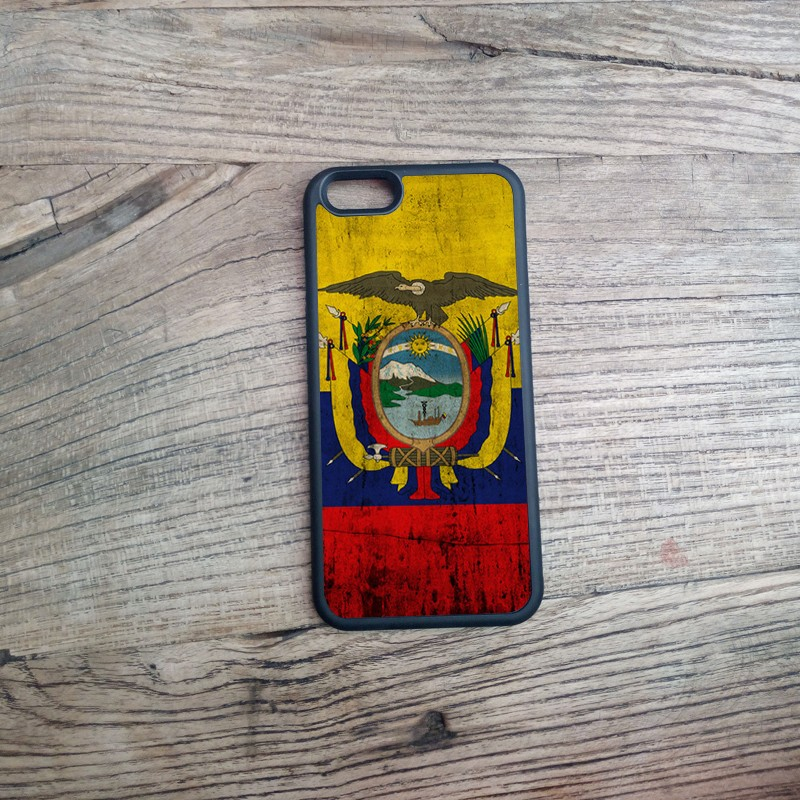 Ecuador Flag imprint Printing Pattern TPU/PC Material Fashion Design Mobile Protection Cover Cases for iPhone 6 6P