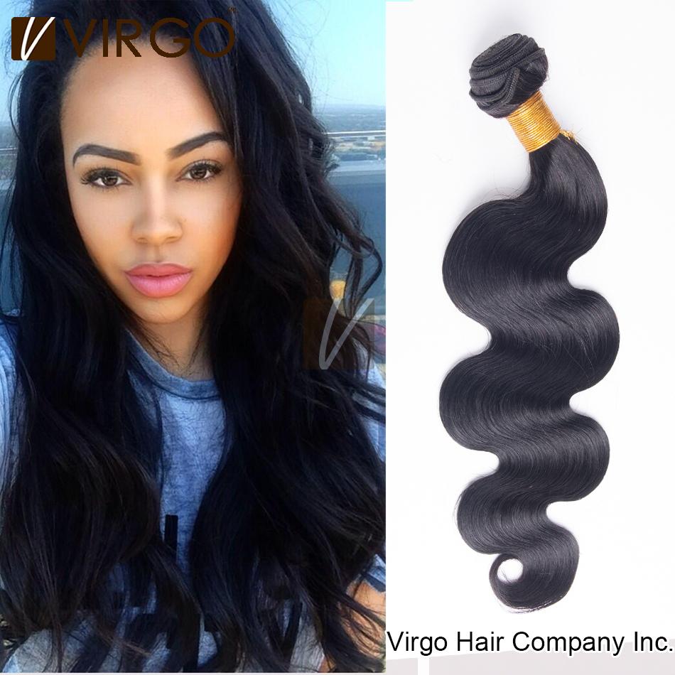 Brazilian Virgin Hair Body Wave 1 Bundle 100% Brazilian Hair Natural Human Hair Weaves 100gram/pcs Brazilian Virgo Human Hair(China (Mainland))