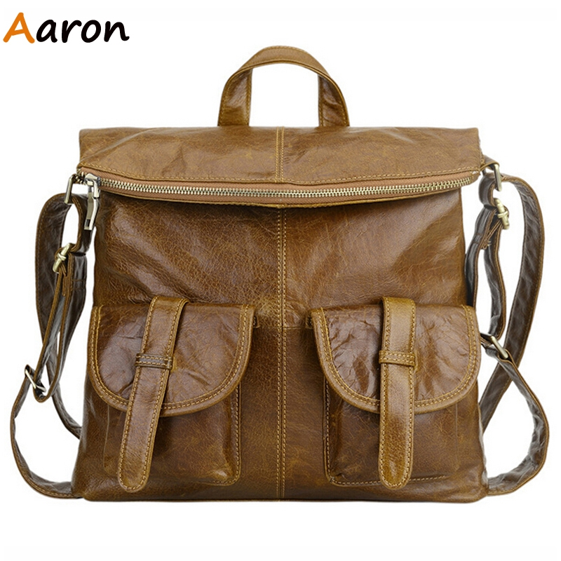 Aaron - New Arrival Vintage Guarantee 100% Unisexs Backpack With Double Solid Pocket,Simple Mochila Feminina Shoulder Book Bags<br><br>Aliexpress