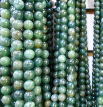 Buy Wholesale Green Stone Round Shape Natural Stone Beads Jewelry Making DIY Bracelet 4mm 6mm 8mm 10mm 12mm Strand 16'' ) for $1.26 in AliExpress store