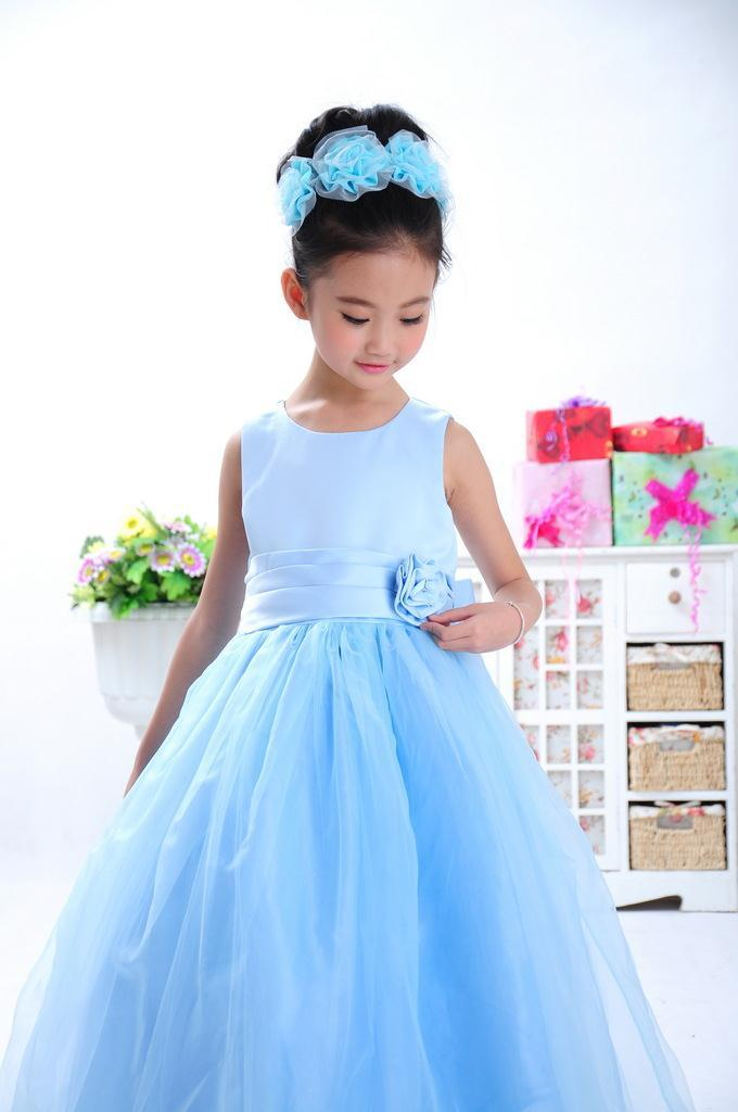 High Quality Beautiful Pageant Dresses For Little Girls