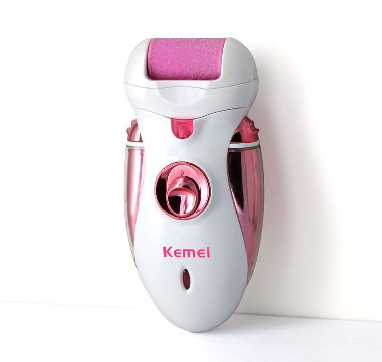 T100 4 em 1 lady depilador depilador mulheres shaver kemei fêmea máquina de barbear cabelo cuidados com o corpo trimmer elétrica pinça remoção