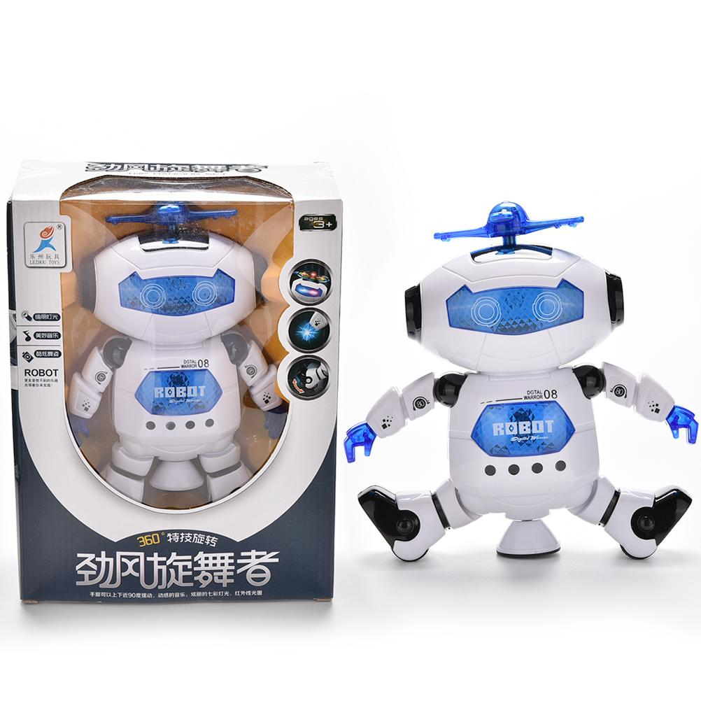 Multifunction Kid robot Superhero Dance Electric Robot With Light Music Musical Toys For Children Infant Adult Action Figures(China (Mainland))